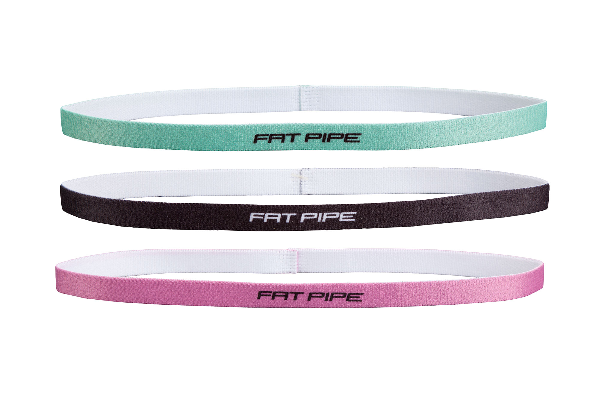 Fatpipe Winny-Headband Set | green - black - pink